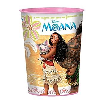 Moana 16oz Plastic Favor Cup (Each)