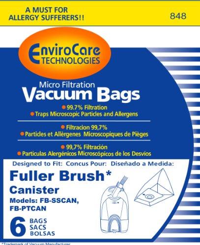 Fuller Brush Canister Vacuum Bags - 5