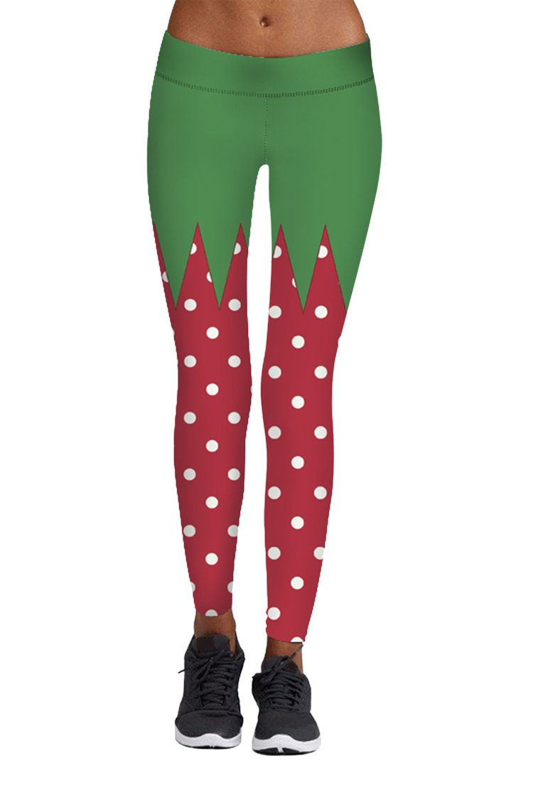 Pink Queen PANTS レディース B075F5LNBK L|Christmas Pattern 17 Christmas Pattern 17 L