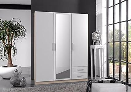 Germanicatm Speyer Bedroom Furniture 3 Door Wardrobe In Light Oak