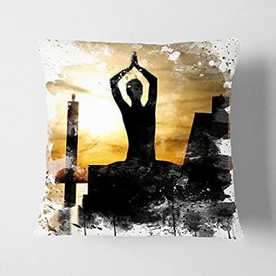 Pie y Figuras Yoga Meditación por el Lago V3 Doble Cara ...