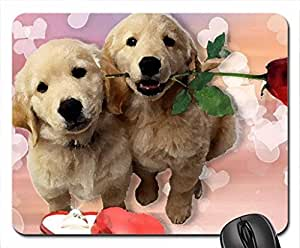 Puppys Love Mouse Pad, Mousepad (Dogs Mouse Pad, 10.2 x 8.3 x 0.12 inches)