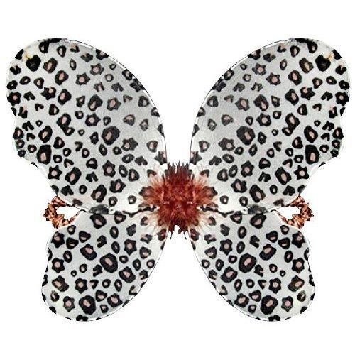 [Cheetah Print Fairy Butterfly Wings] (Cutie Cheetah Child Costumes)