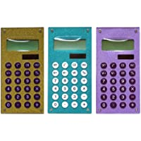 Inkology Glam Rock Glitter Calculator, Single Unit, Color May Vary (641-1N)
