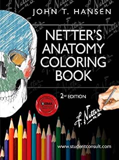 Netters Anatomy Coloring Book With Student Consult Access Netter Basic Science