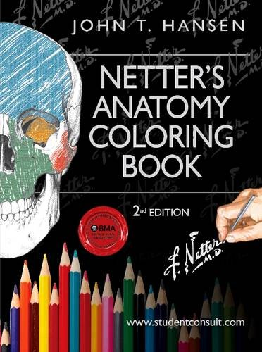 Netter's Anatomy Coloring Book: with Student Consult Access, 2e (Netter Basic