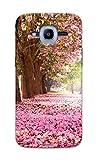 Tecozo Designer Printed Back Cover / Hard Case for Samsung Galaxy J2 Pro (2016) (Pink Flower Design Design / Flower) - Pink - I281