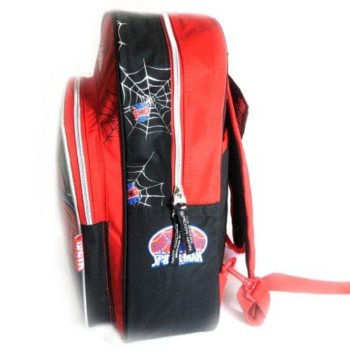 "Mochila ""Spiderman""rojo negro (40 cm)."