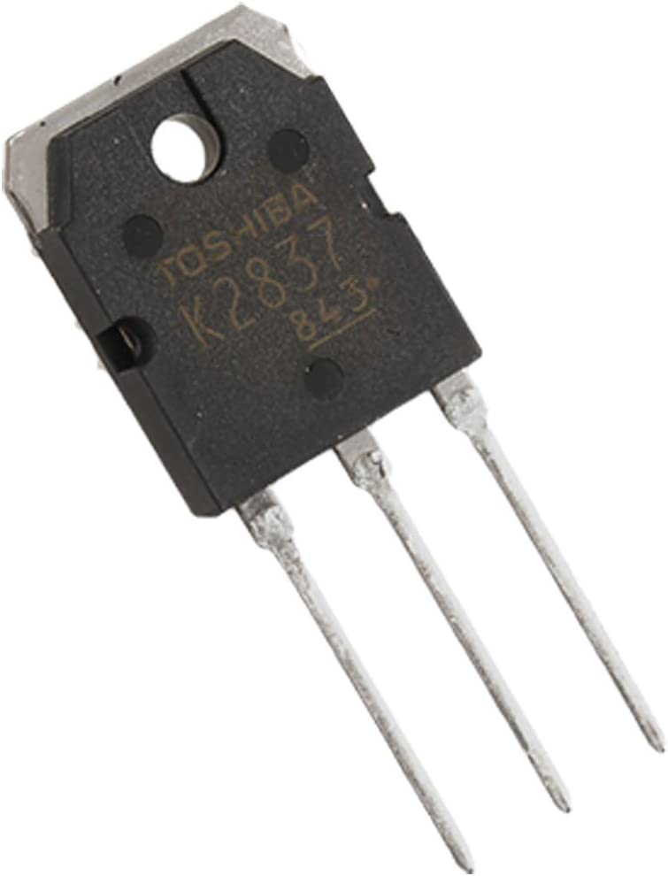 Aexit 500V 20A Interfaces 2SK2837 Silicon N Channel Radio Frequency Transceivers MOSFET Transistor