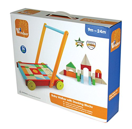 Windsor Baby Walker with Stacking Blocks