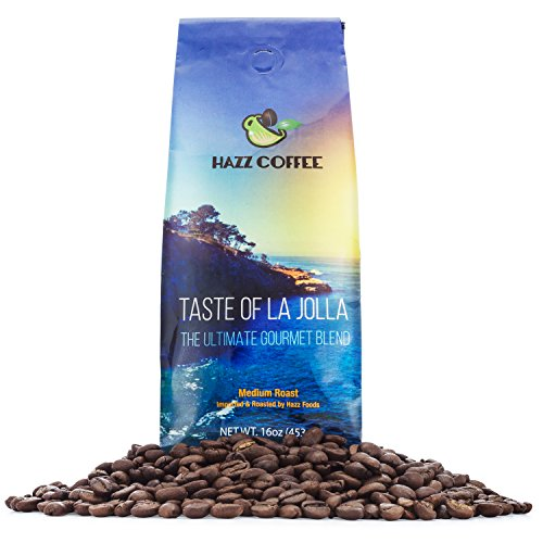 Taste of La Jolla Gourmet Blend Coffee (Medium Dark, used for sale  Delivered anywhere in USA