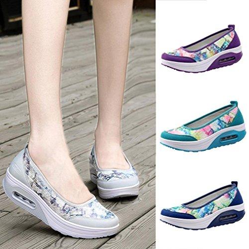 Cómodo Plataforma Gris Calzado Zapatos Casual Mujer 2018 Dama Lona Otoño Para Breathable Moda Paolian Zapatillas Señora De Baratos Vestir P4xA1wq