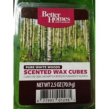 Amazon.com: Better Homes and Gardens Line Dried Linen Wax Melt: Home ...