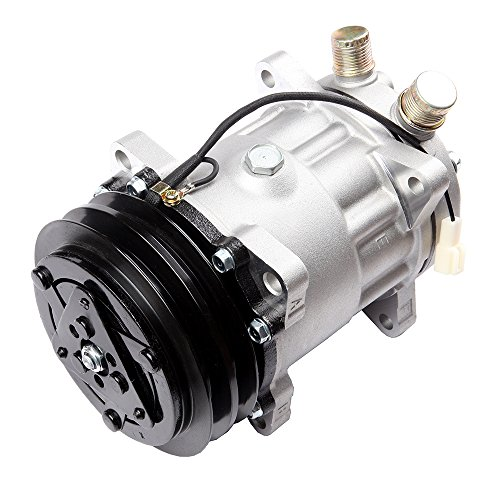 (AUTOMUTO A/C Compressor fit for Hyundai Jeep Wagoneer Mercury Tracer Volvo 1.5L 2.0L 2.5L 2.3L 2.4L 82 83 84 85 86 87 88 89 90 91 92 93 94 95 Compatible with CO 4647C Auto Repair Compressors Assembly)