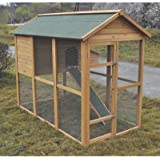Tall Wooden Chicken Coop   6 To 8 Hens