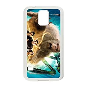 goosebumps movie wide Samsung Galaxy S5 Cell Phone Case White xlb2-188540