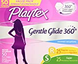 Health & Personal Care : Playtex Gentle Glide Tampons with Triple Layer Protection, Regular and Super  Multi-Pack, Unscented - 50 Count