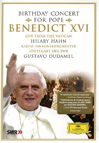 Gustavo Dudamel - Birthday Concert for Pope Benedict Xvi (DVD)