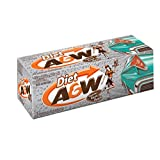 A&W Diet Root Beer, 355 mL cans, Pack of 12