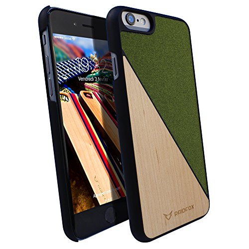 Faceplate Cover Case Wood - 3