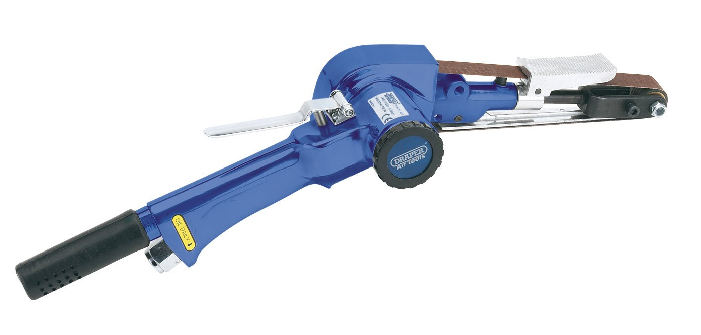 Draper 61025 Heavy-Duty Compact Air Belt Sander Air Tools & Compressors Sanders Power Tools