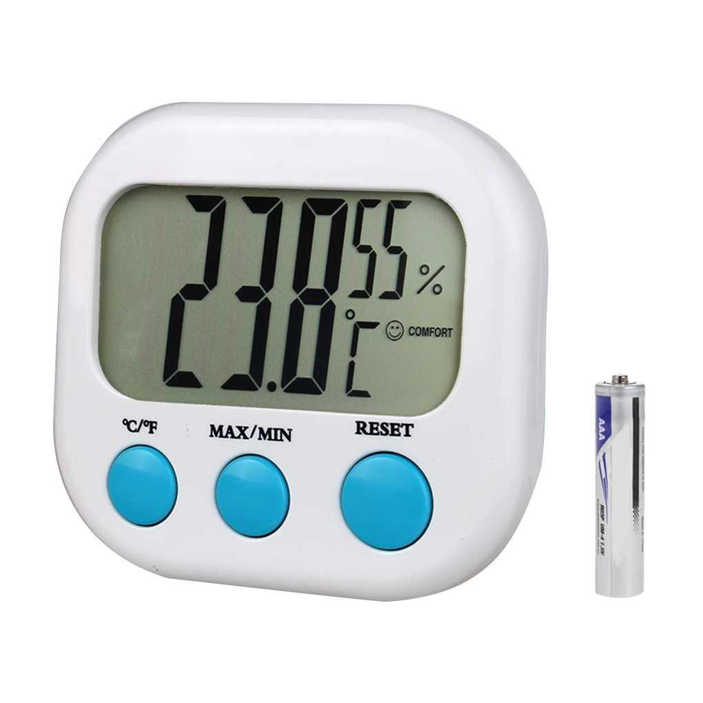 Royalr Werkzeuge CX-202 Indoor Thermometer Hygrometer Mini Digital Temperatur-Feuchtigkeits-Messinstrument-Lehre LCD-Anzeige Wetterstation