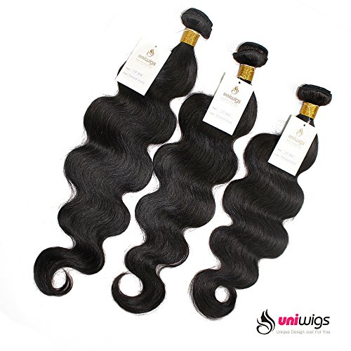 Uniwigs® 100% Brazilian Remy Human Hair Weft Natural Color