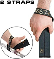 WARM BODY COLD MIND Lifting Wrist Straps for Olympic Weightlifting, Powerlifting, Bodybuilding, Functional Str