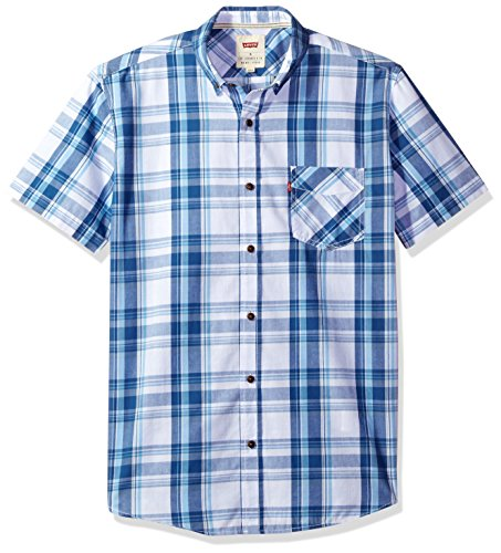 levis-mens-bardley-short-sleeve-woven-shirt-dutch-blue-large