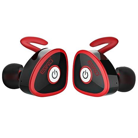 Auricolari Bluetooth 4.1 FKANT Senza Fili Mini Stereo Cuffie Bluetooth con  Microfono Incorporato per Sport o ... e6f0558a7e46