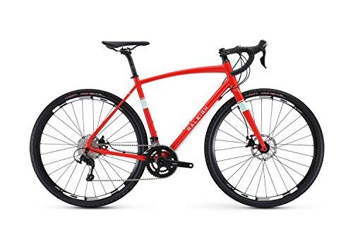 Raleigh Bikes Willard 4 Adventure Road Bike 60cm Frame, Red,