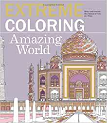 Extreme Coloring Amazing World Relax And Unwind One Splash Of Color At A Time Extreme Art Lawson Beverly 9781438008356 Amazon Com Books