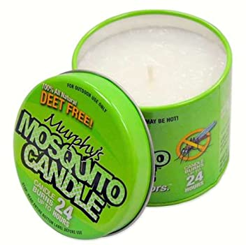 Amazon.com : Murphy's Mosquito Candle - Natural Insect Repellent ...