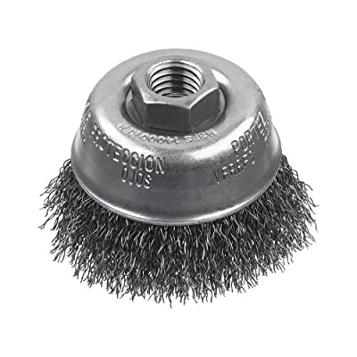 DEWALT DW49153 6-Inch by 5/8-Inch-11 XP .014 Carbon Crimp Wire Cup Brush
