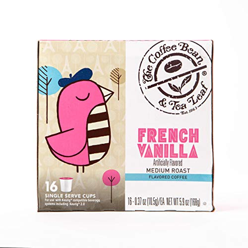 Coffee Bean & Tea Leaf French Vanilla Single Serve Kcups (16 ct)