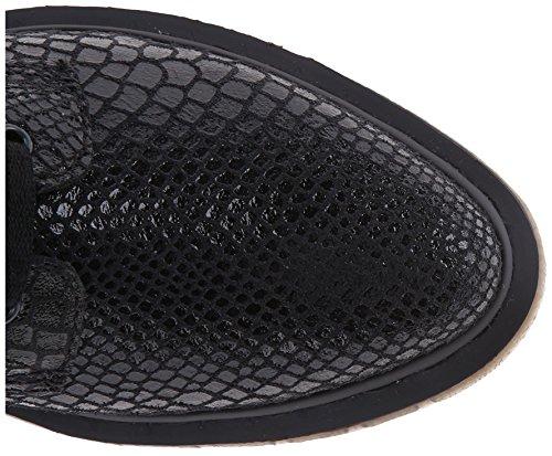 Dr. Martens Alix Black Hi Shine Snake 16706001, Bottines