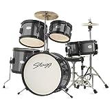 Stagg TIM JR 5/16 BK 5 Piece Junior Drum Set with Hardware