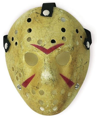 Cosplay costume Mask Halloween Party Cool Jason Mask, Yellow