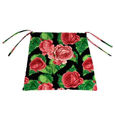 Classic Polyester Outdoor Chair Cushion With Ties, for sale  Delivered anywhere in USA
