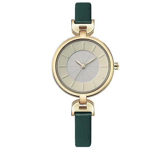 Reloj para mujer 2018 Tendencias de moda Reloj de correa impermeable: Amazon.es: Relojes