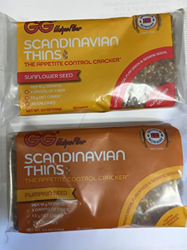 GG SCANDINAVIAN THINS VARIETY- 5 PUMPKIN, 5 SUNFLOWER