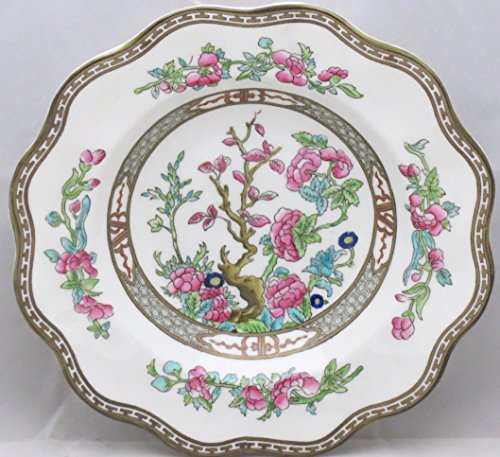 Coalport Indian Tree-Multicolor (Scalloped,newer) Rim Soup Bowl