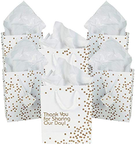 Fun Express Thank You for Sharing Our Day Wedding Thank You Gift Bags - 24 -