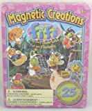 Trading House Magnetic Creations Playset - 25 Magnetic Pieces - Fifi And The Flowertots