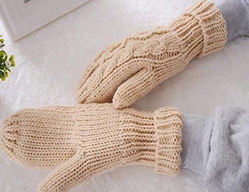 [1Pc (1-Pair) Eminent Popular Hots Women's Warm Gloves Winter Season Girls Warmer Wrist Decoration Colors] (Billiard Girl Costume)