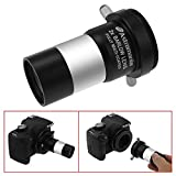 Astromania 1.25'' Latest 2X Barlow Lens MultiCoated Metal with M42x0.75 Thread Camera Interface for Telescopes
