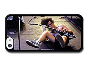 diy phone caseAMAF ? Accessories ACDC Angus Young on Stage Crazy Playing Guitar case for ipod touch 4diy phone case