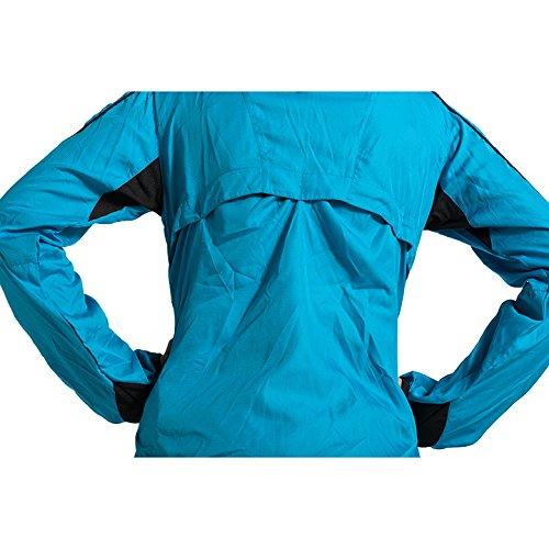 Lima Femme turquoise Veste IZAS Running pour multicolore lime de qw44SOad