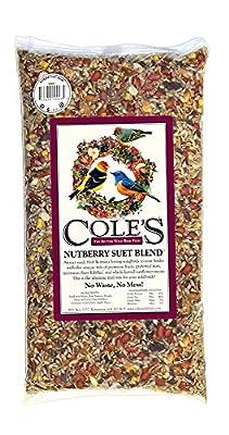Cole's NB10 10 Pound Nutberry Suet Blend