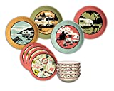 Camp Casual CC-001 12-Piece Dish Set